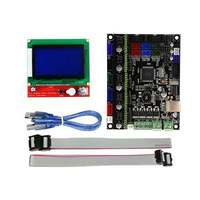 3D Printer Accessories MKS GEN L Motherboard +12864LCD Display Open Source FirW9