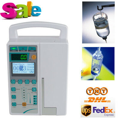 USA Seller VET Infusion Pump Injection/squirt Machine KVO Multi-language & Alarm