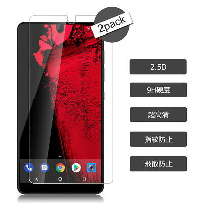 2X Lots 9H Tempered Glass Screen Protector Film Guard for Essential Phone