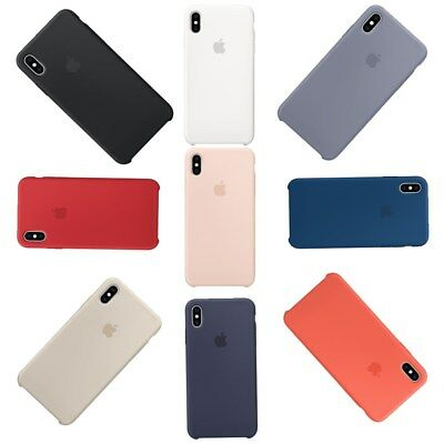 For Apple iPhone XS/XS Max Ultra Thin Silicone Case Cover Genuine Original