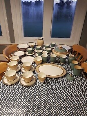 """Denby Luxor """"Replacements 1St Quality Mugs Cups Plates Jugs Sugar Tureen"""