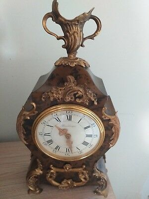 Stunning Vintage Hour Lavigne A Paris Bracket Clock Decorative.