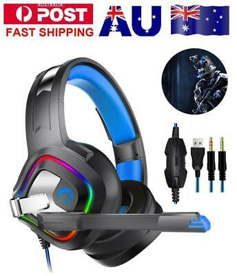 A66Gaming Headset Surround PS4 Gaming Headphones PC Xbox for Nintendo Switch MAC
