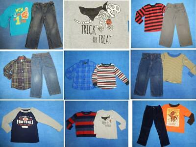 NICE Lot 15pcs boys Fall Winter School clothing Sz 4T Place Carter's Sonoma~3W2