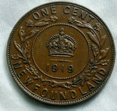 Cents 1919- C Newfoundland George v
