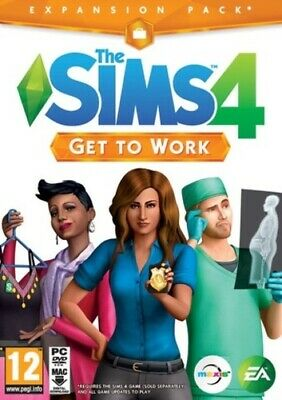 The Sims 4: Get to Work (PC) VideoGames ***NEW***