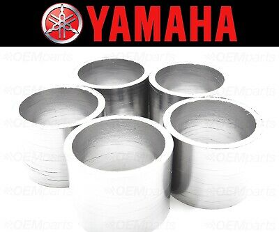 Set of (5) Yamaha V-Max1200 Exhaust Muffler Silencer Pipe Connector Joint Gasket