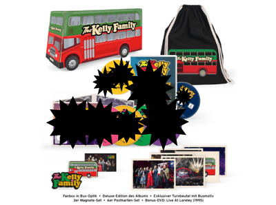 The Kelly Family - We Got Love Live Loreley (Limited Fanbox) OHNE CD/DVD