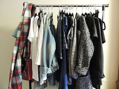 Wholesale Job Lot of 20kg Used Ladies Women's Various Clothing Clothes Grade A