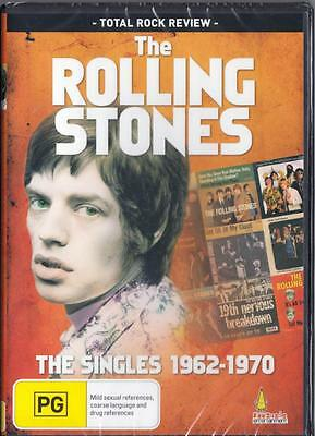 The Rolling Stones The Singles 1962-1970 - New  Region 4 Dvd Free Local Post