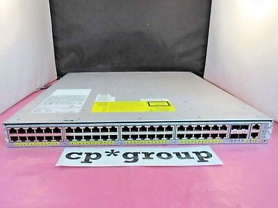 Cisco WS-C4948E 48-Port Gigabit Ethernet + 4 10GB SFP Switch w/ AC PSU & 15.2 OS