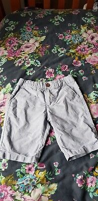 Primark Boys Light Blue Chino Shorts Age 5-6 Years