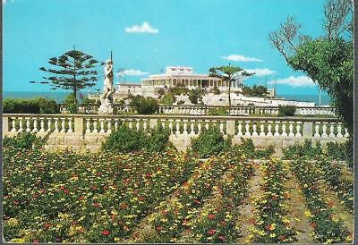 St. Julians, Malta - Casino - Dragonara Palace - postcard, stamp, 1970 pmk