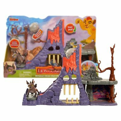 New The Lion Guard Hyena's Hide Out Playset & Figure Disney Junior Official