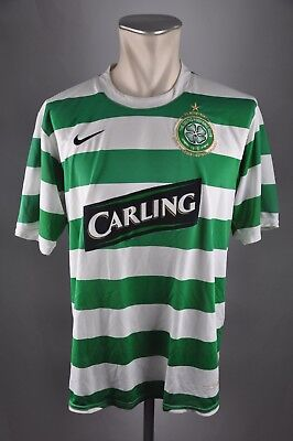 Celtic FC Trikot Glasgow Gr. L 2007-2008 Lisboa 40th Anniversary Home Nike