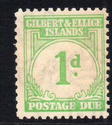 Gilbert & Ellice Islands 1d Postage Due Stamp c1940 MM (some age tone)