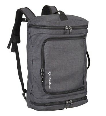 Other Golf Accessories Golf Accessories Taylormade Players Backpack Charcoal Black Model N6532301 Pebble Beach Logo