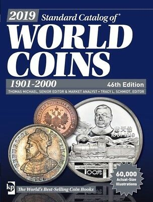 2019 Krause Standard Catalog Of World Coins 1901-2000, 46Th Edition