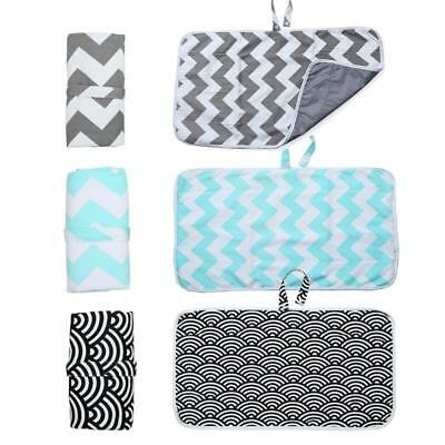 Travel Baby Infant Nappy Diaper Bag Changing Mat Handbag Pad Pouch Portable H