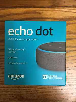 Amazon Echo Dot (3rd Generation) Smart Speaker - Charcoal (B0792KTHKJ)