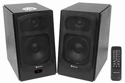 2) SPEAKER HOME Theater System For Samsung Q6F Television TV