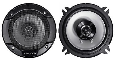 "Pair Kenwood KFC-1366S 5.25"" 500 Watt 2-Way Car Audio Coaxial Speakers"