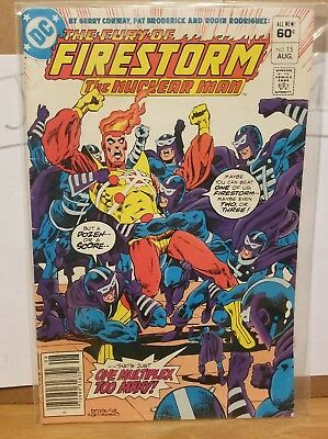(DC Comics) - The Fury of Firestorm: The Nuclear Man #15 Aug. 1983