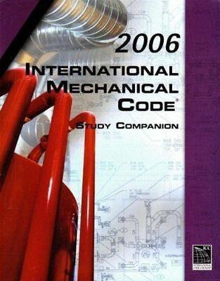 2006 International Mechanical Code Study Companion ICC Council NEW