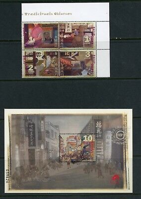P512  Macao  2007  traditional shops   MNH