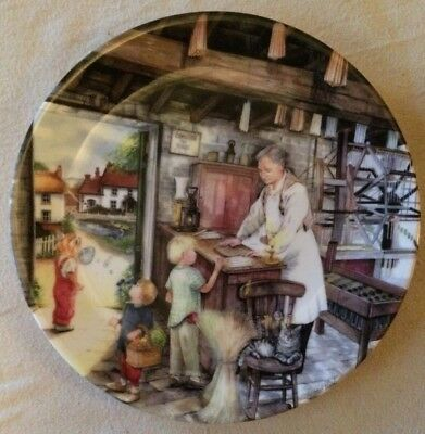'THE CANDLE MAKER' Royal Doulton China Collectors Plate - Old Country Crafts -