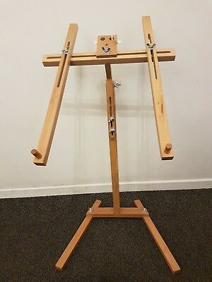 Daylight Wood Stitchmaster Floor Stand For Embroidery Frames Cross stitch