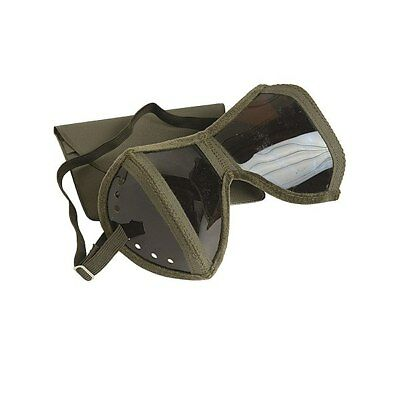 Original German Army Bundeswehr Safety Сollapsible Goggles and Case
