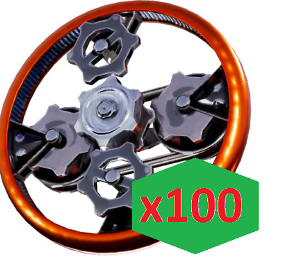 Fortnite Save The World Efficient Mechanical Parts x100 PC/PS4/XBOX
