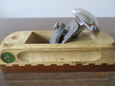 Granantie ECE 1852 wood block 6 inches  plane (vintage) Made in Western Germany