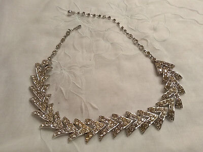 sarah coventry parisienne nights strass collier anfang 60er jahre