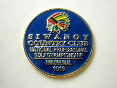 "1916 Us Pga (1St Ever Held) 1"" Coin Golf  Ball Marker"