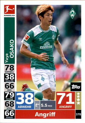 Topps Match Attax ACTION 18/19 - 378 - Yuya Osako