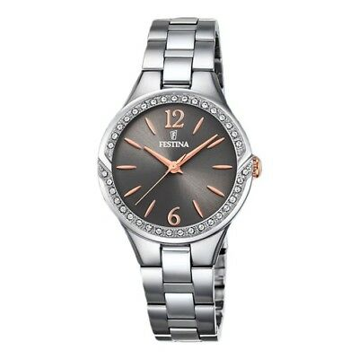 Festina Mademoiselle watch F20246/1 with stainless steel case and grey dial
