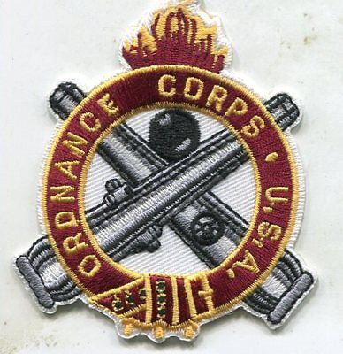 US Army Ordnance Corps Regimental 3 inch pocket patch