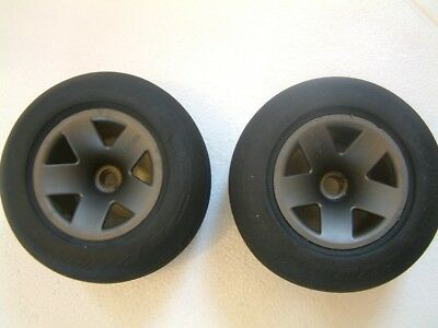 Hpi Rush Evo Front Wheels  And Tyres Pair