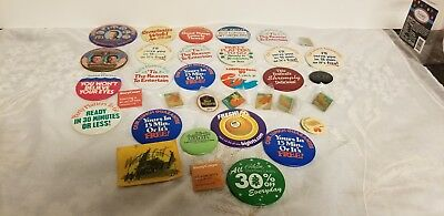Neat Lot of  Bill Clinton Political Campaign Pins and other pins