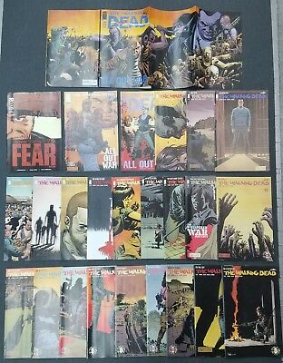 The Walking Dead First Print Lot VF-NM 100 1st Negan, 25 issues between 115-174