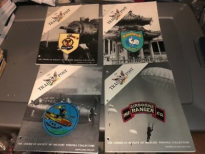 4 1995 Issues ASMIC American Society Military INSIGNIA Collector Reference Books