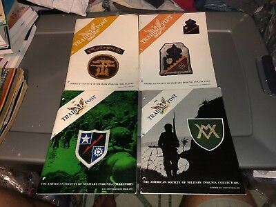 4 1993 Issues ASMIC American Society Military INSIGNIA Collector Reference Books
