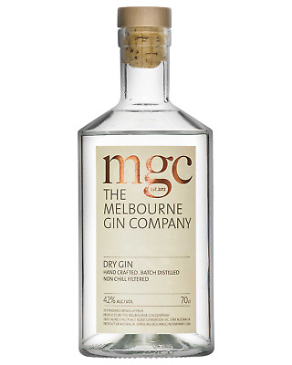 The Melbourne Gin Company Dry Gin 700mL Spirits bottle