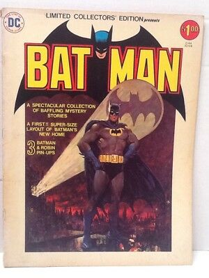 Dc Comics Limited Collectors Edition Batman 1976. Vol 5 June/july.c-44