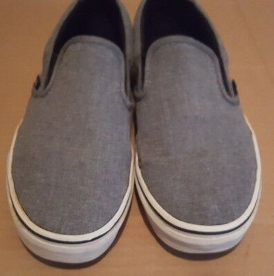 ffd9a498aefe VANS MENS SIZE 9 Womens Size 10.5 Gray Shoes TC9R -  25.60