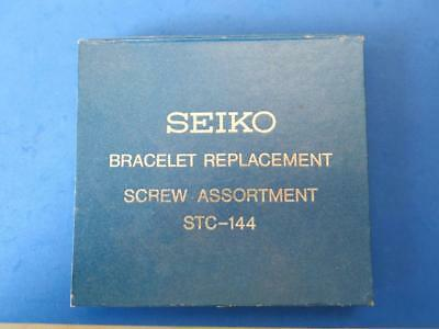 Vintage Seiko Stc-144 Bracelet Replacement Screw Assortment For Watch Repair