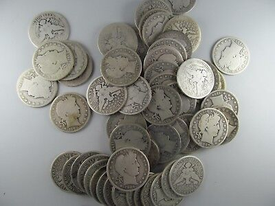 Lot of 18 Barber Silver Half Dollars -- GREAT LOT OF COLLECTABLE COINS!