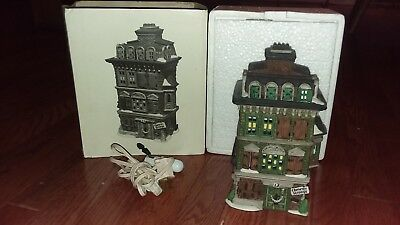 Dickens Village Series Heritage Collection Dept 56 THE FLAT OF EBENEZER SCROOGE